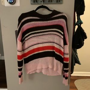 Something Navy Stripe Sweater